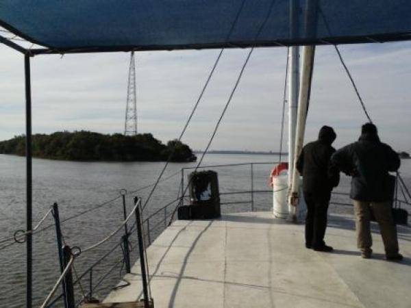 Navegar en el río Uruguay