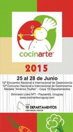 Inscriben para participar en Cocinarte 2015 en Paysandú