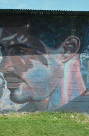Festival de arte urbano en Mercedes