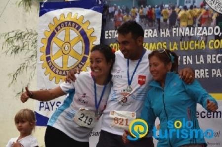 900 participantes tuvo maratón binacional solidaria