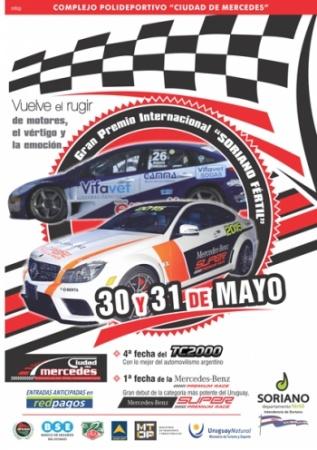 Festival regional de automovilismo de primer nivel se realiza en Soriano
